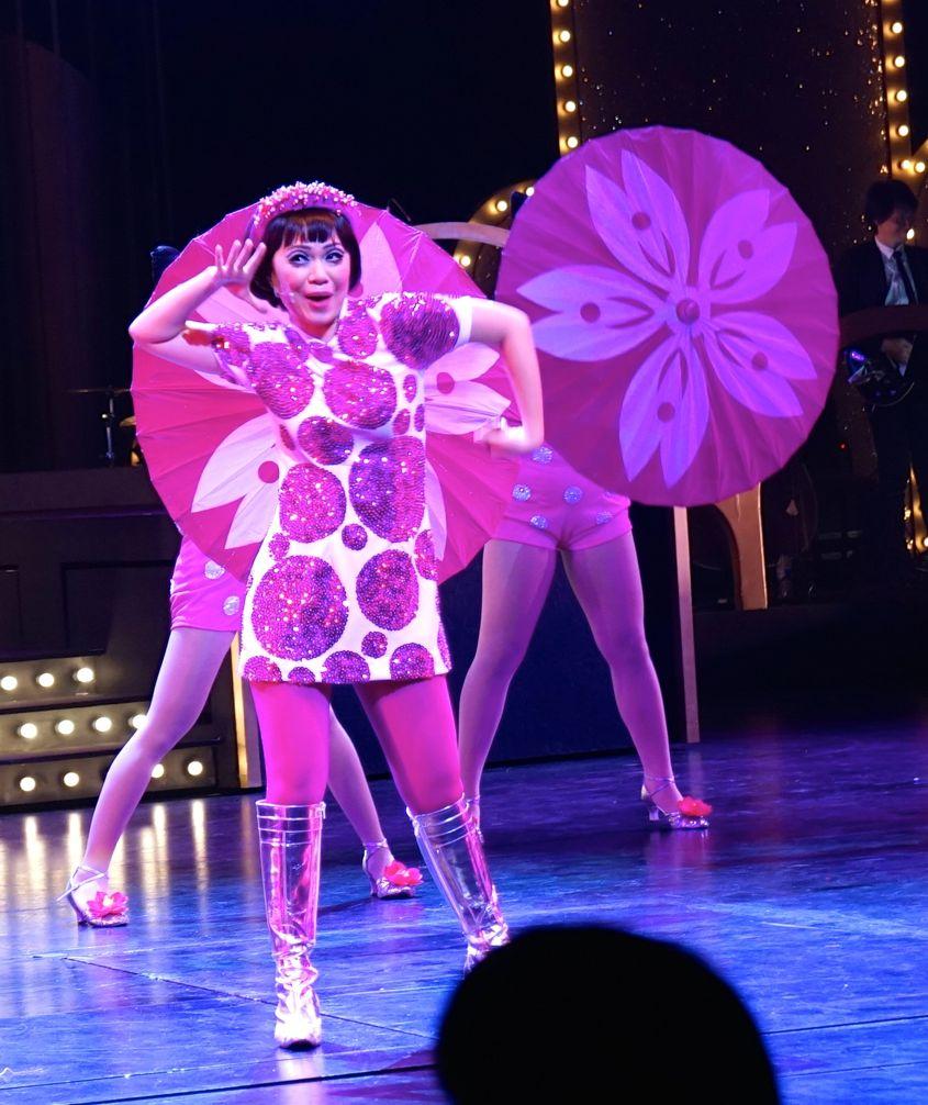Great World Cabaret Singapore's reigning a-go-go and yodeling queen, Sakura Teng - AspirantSG