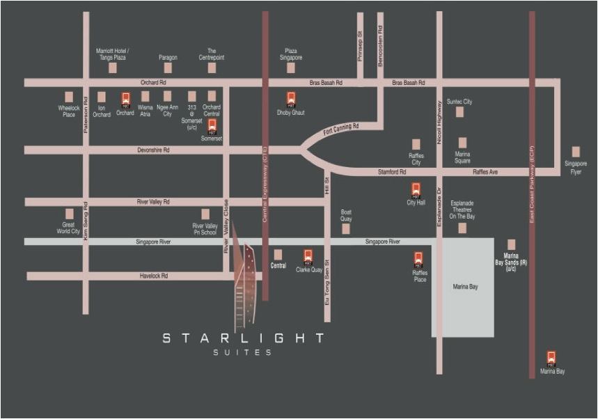 Starlight Suites Location - AspirantSG