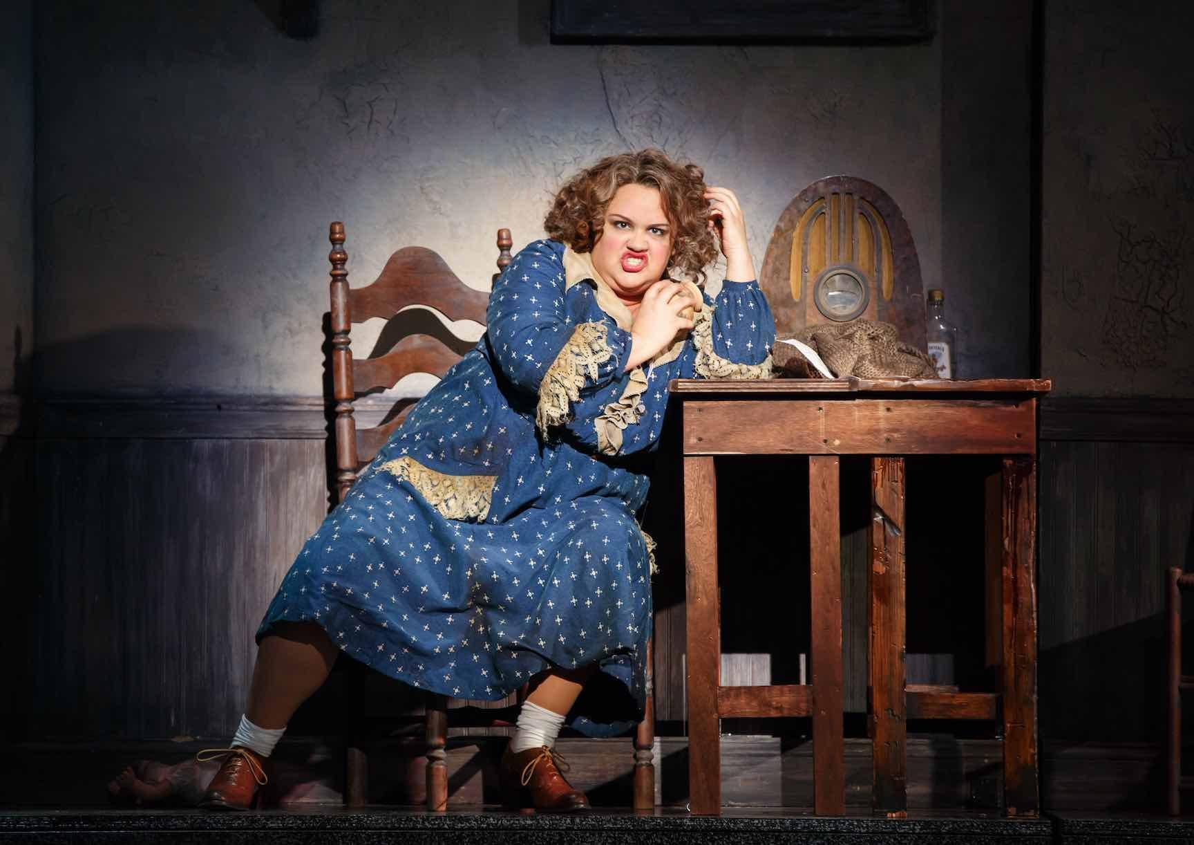 Annie Musical Fat Lady - AspirantSG