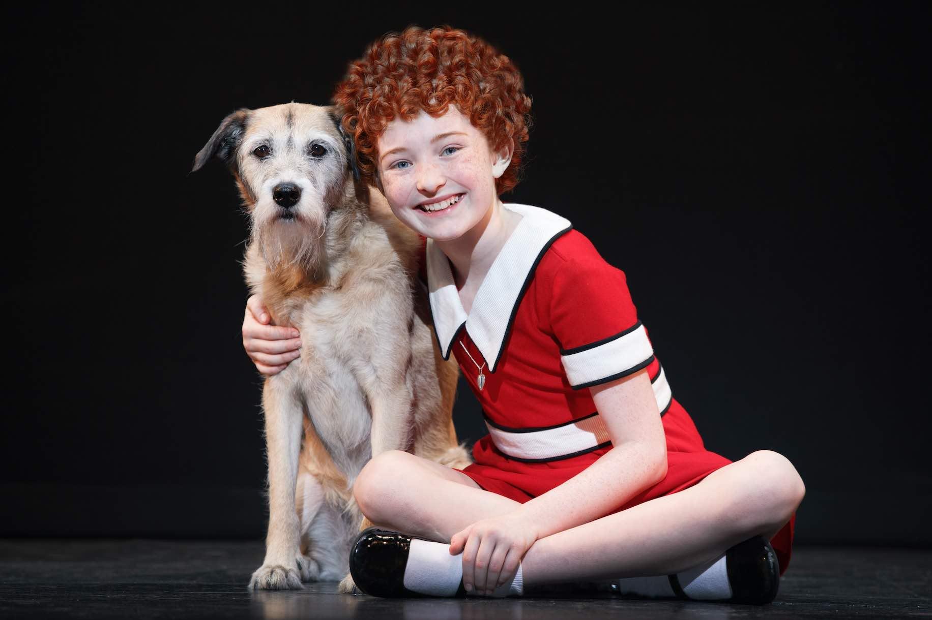 Annie With Her Dog - AspirantSG