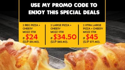 Domino's Pizza Exclusive Promotion for AspirantSG Readers!