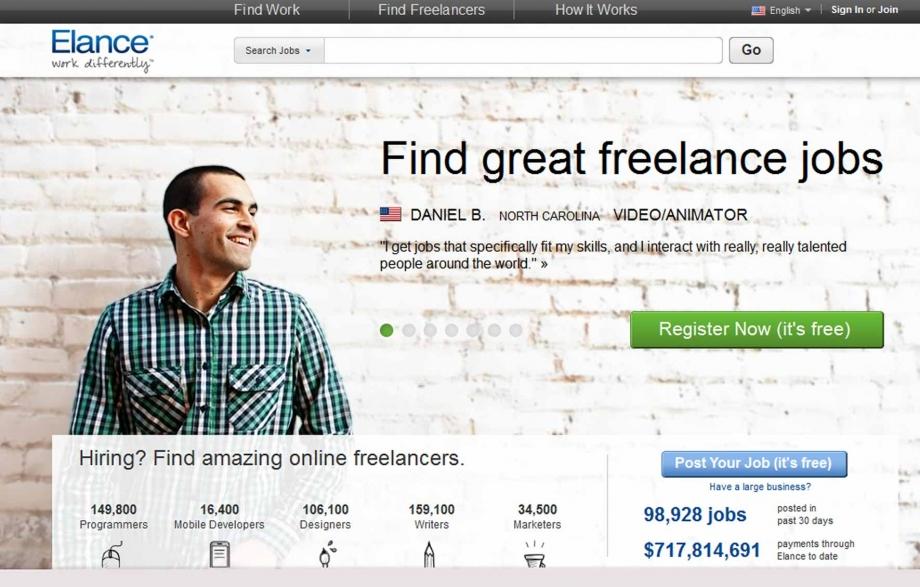 Elance Website For Freelancers - AspirantSG