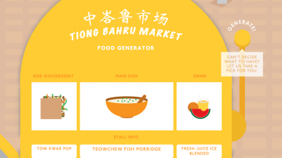 Bravo Presents Not-Your-Average Tiong Bahru Food Guide