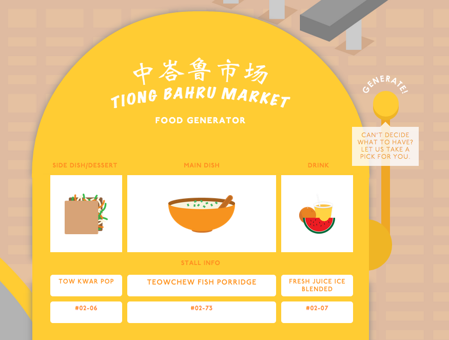 Fun Food Ideas Generator - AspirantSG