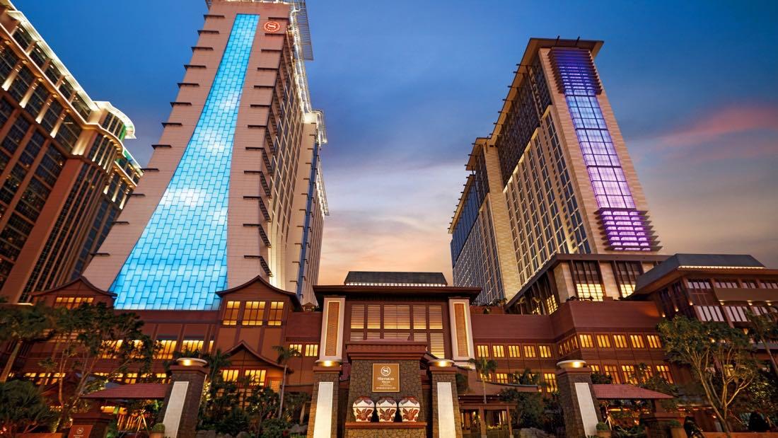 Sheraton Grand Macau Hotel Exterior - AspirantSG