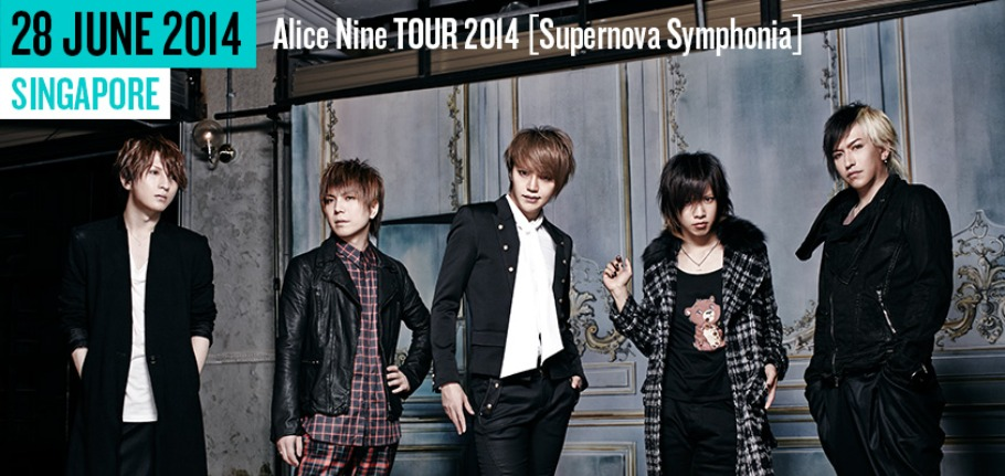 Alice Nine Tour 2014 - Live In Singapore