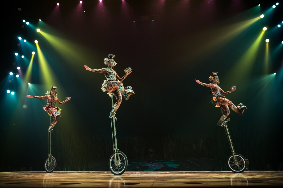 Unicycles Circus Du Soleil Singapore - AspirantSG