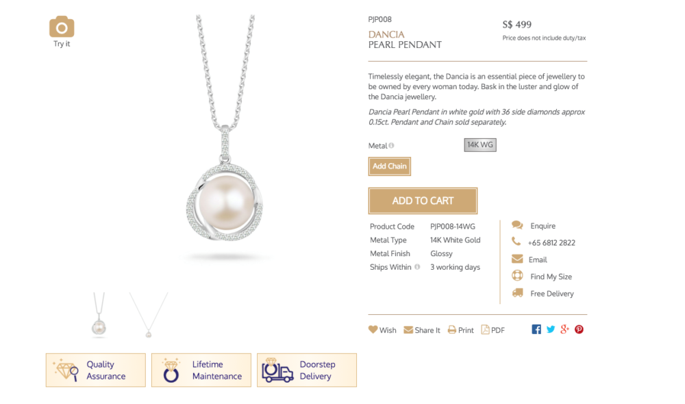 Appreciating my mum with SOO KEE JEWELLERY (SOOKEE E-STORE)