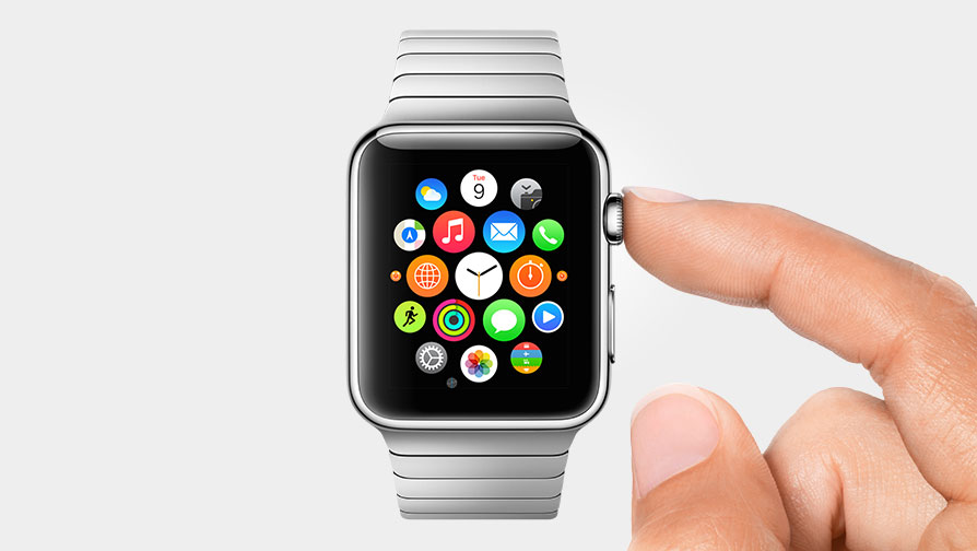 Apple iWatch Digital Crown - AspirantSG