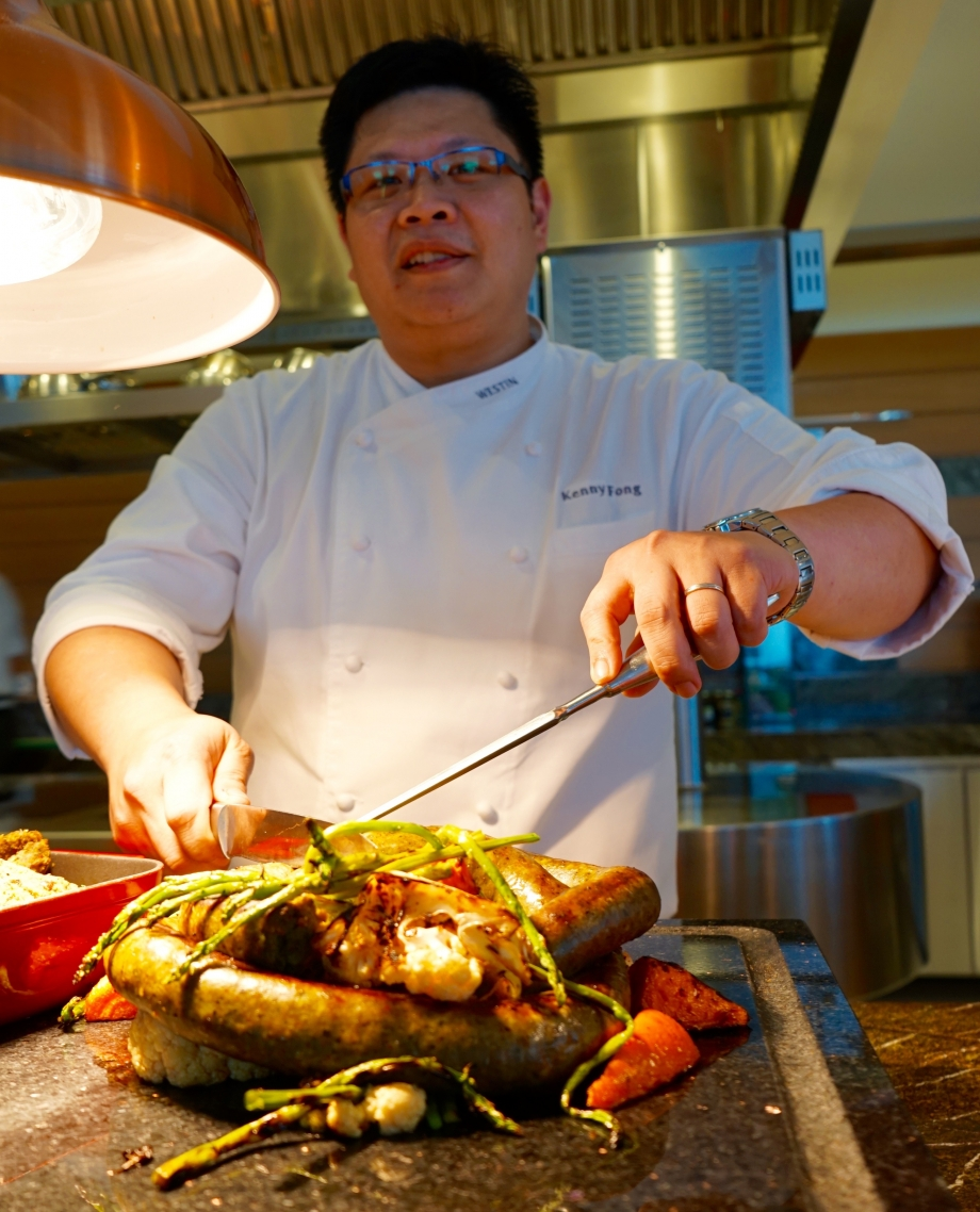 Chef Kenny From Seasonal Tastes The Westin Singapore - AspirantSG