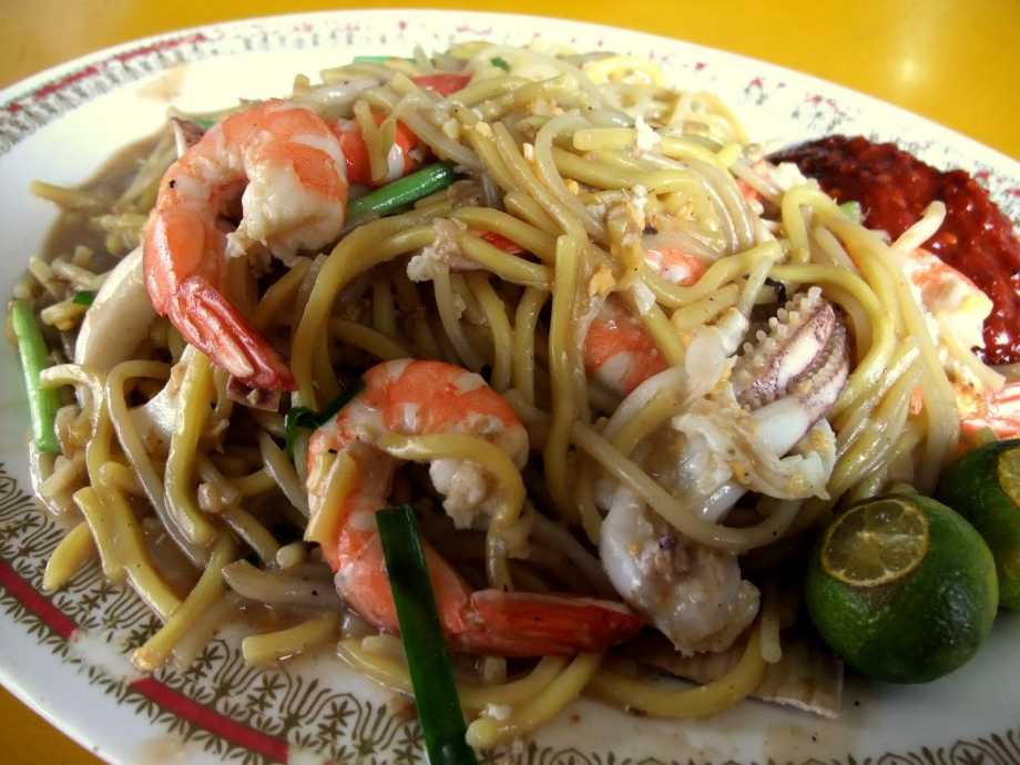 Kim's Fried Hokkien Prawn Mee Singapore - AspirantSG