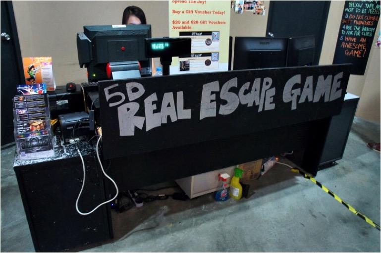 Trapped 5D Escape Game - AspirantSG