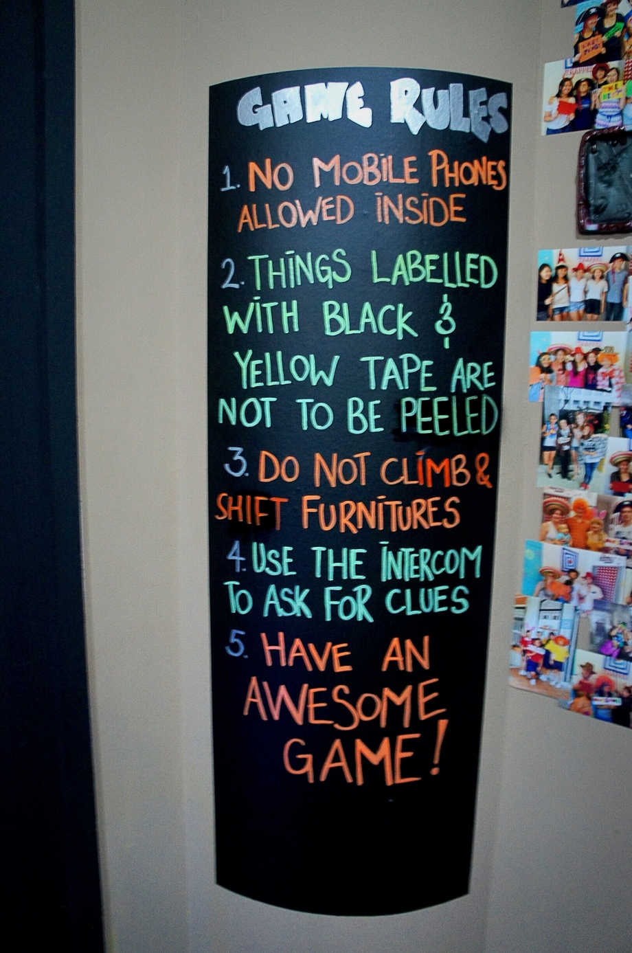 Rules Of The Game At Trapped Singapore