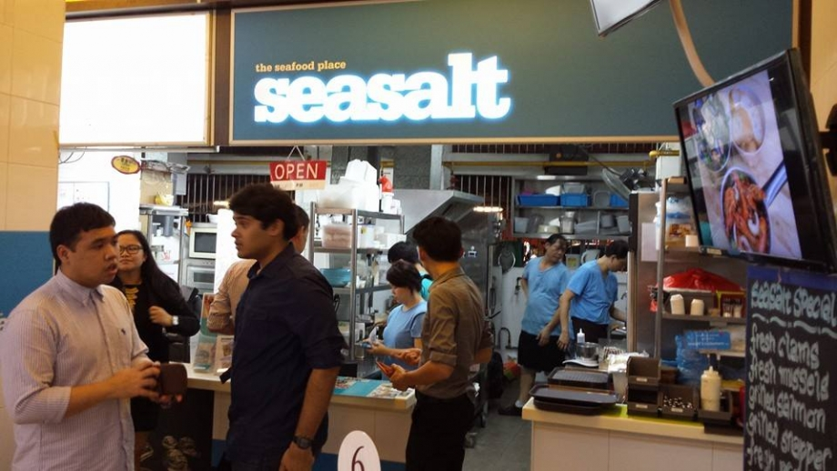 Sea Salt Seafood Singapore - AspirantSG