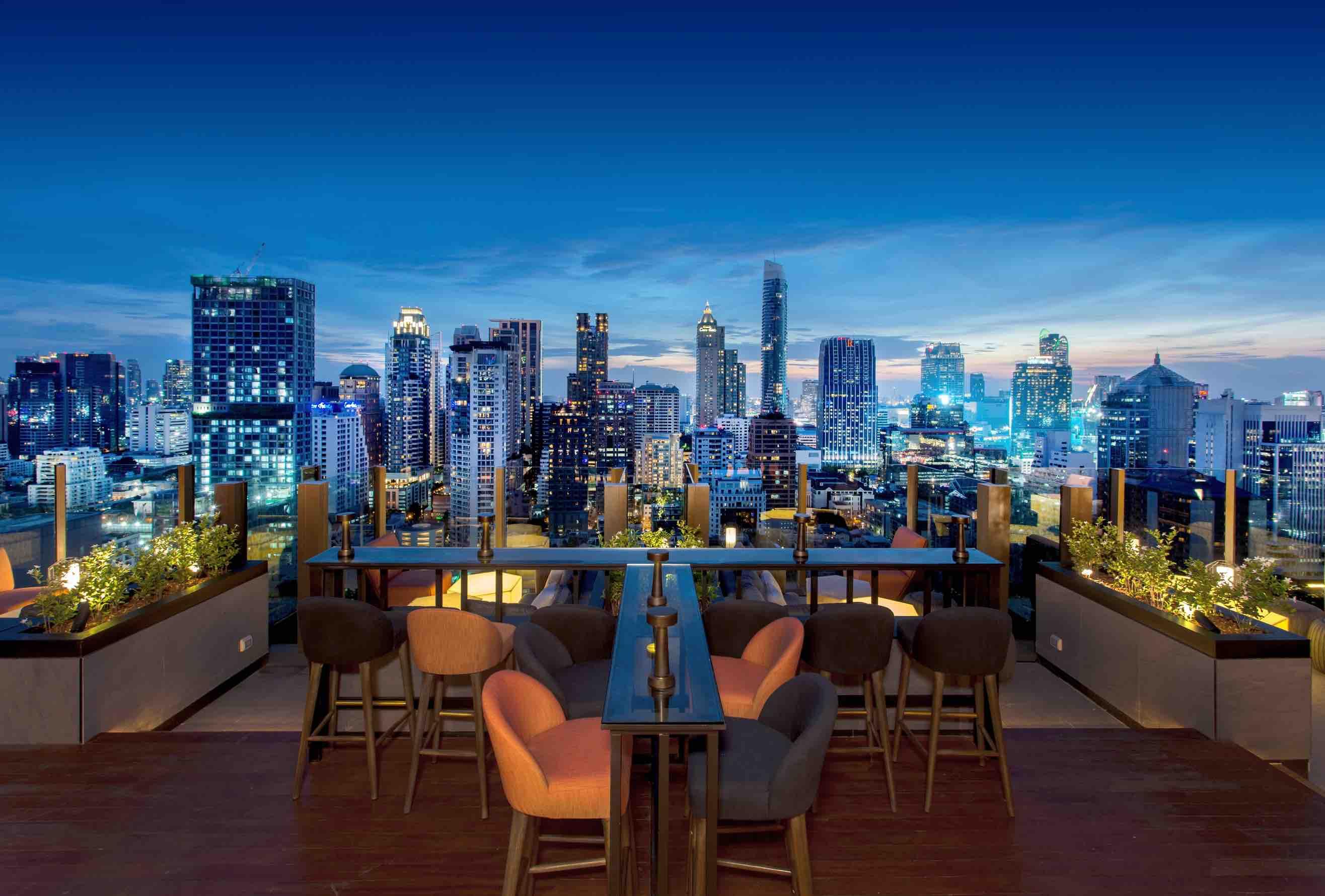 CHAR Rooftop Bar Bangkok - AspirantSG