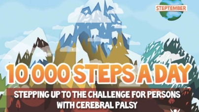 Walk 10,000 Steps To Raise Fund For People With Cerebral Palsy In Singapore