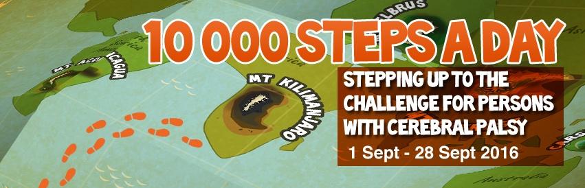Cerebral Palsy Alliance Singapore (CPAS) Steptember Campaign - AspirantSG
