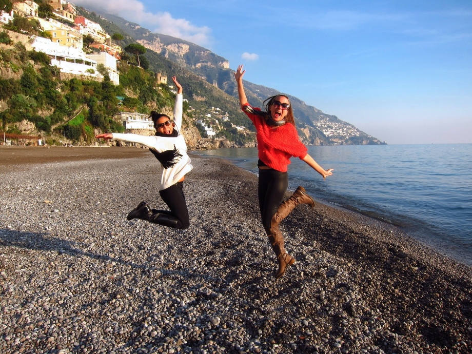 Stroll Down Pebbled Beaches Positano - AspirantSG