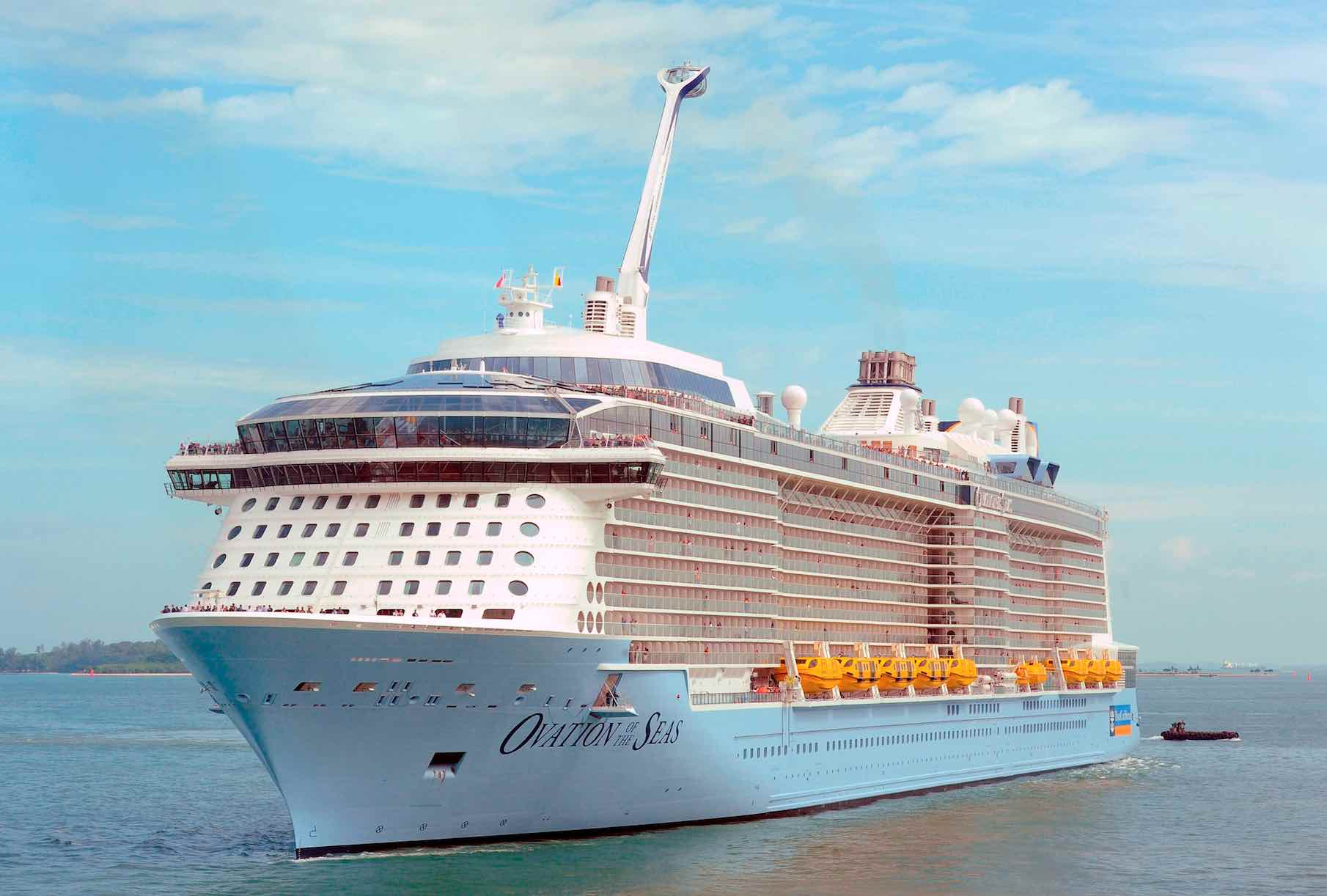 Ovation of the Seas Exterior - AspirantSG