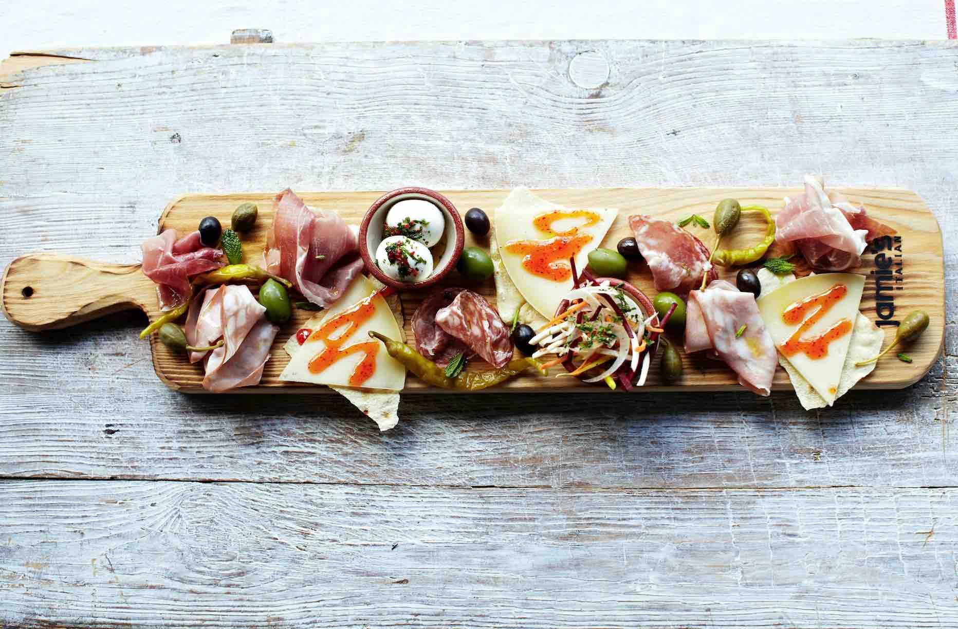 Royal Caribbean Chef Jamie Oliver Antipasti Planks - AspirantSG