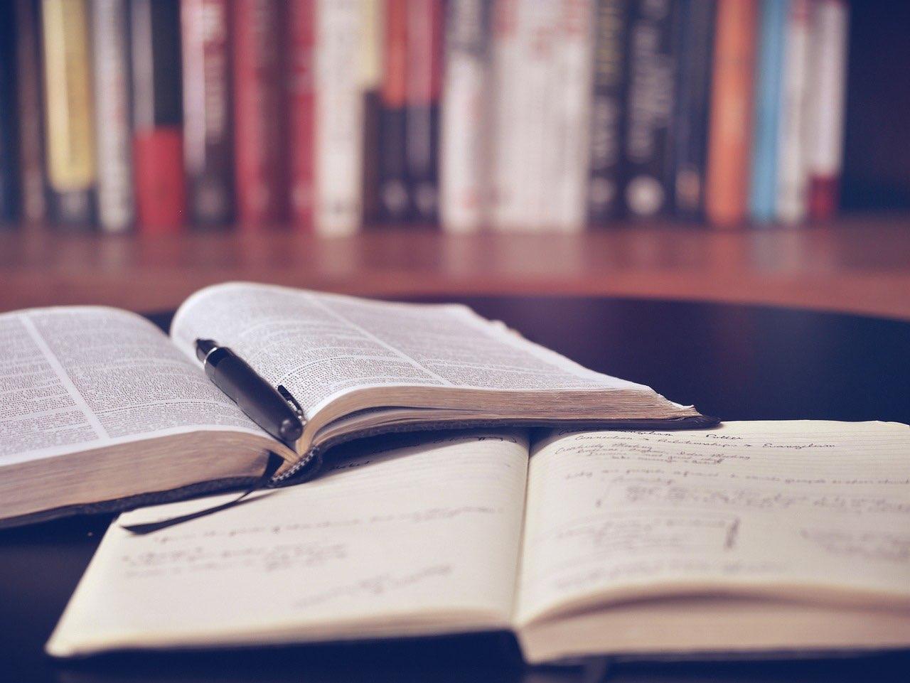 Study In Library (Pixabay Free Image) - AspirantSG