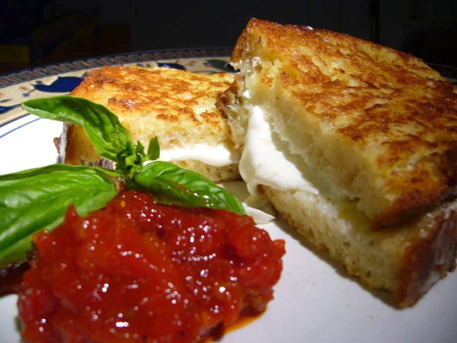 Mozzarella in Carrozza - AspirantSG