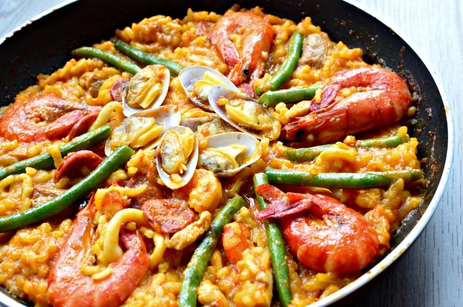 Paella European Dish - AspirantSG
