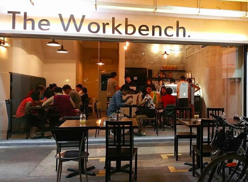 The Workbench Bistro Singapore - AspirantSG