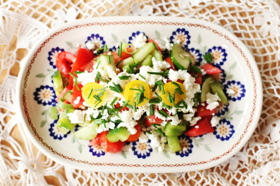 Sopska Salad - AspirantSG