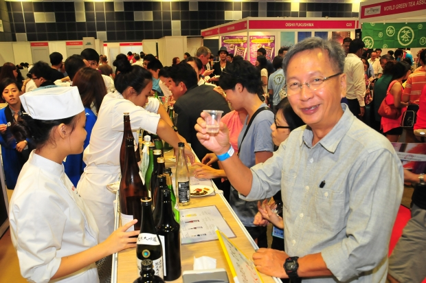 Japanese Wine Tasting at Oishii Japan 2014 - AspirantSG