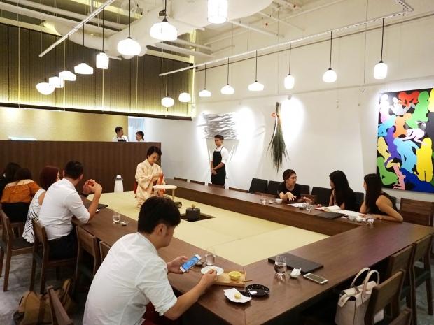 Hashida Garo Cafe Interior Singapore - AspirantSG