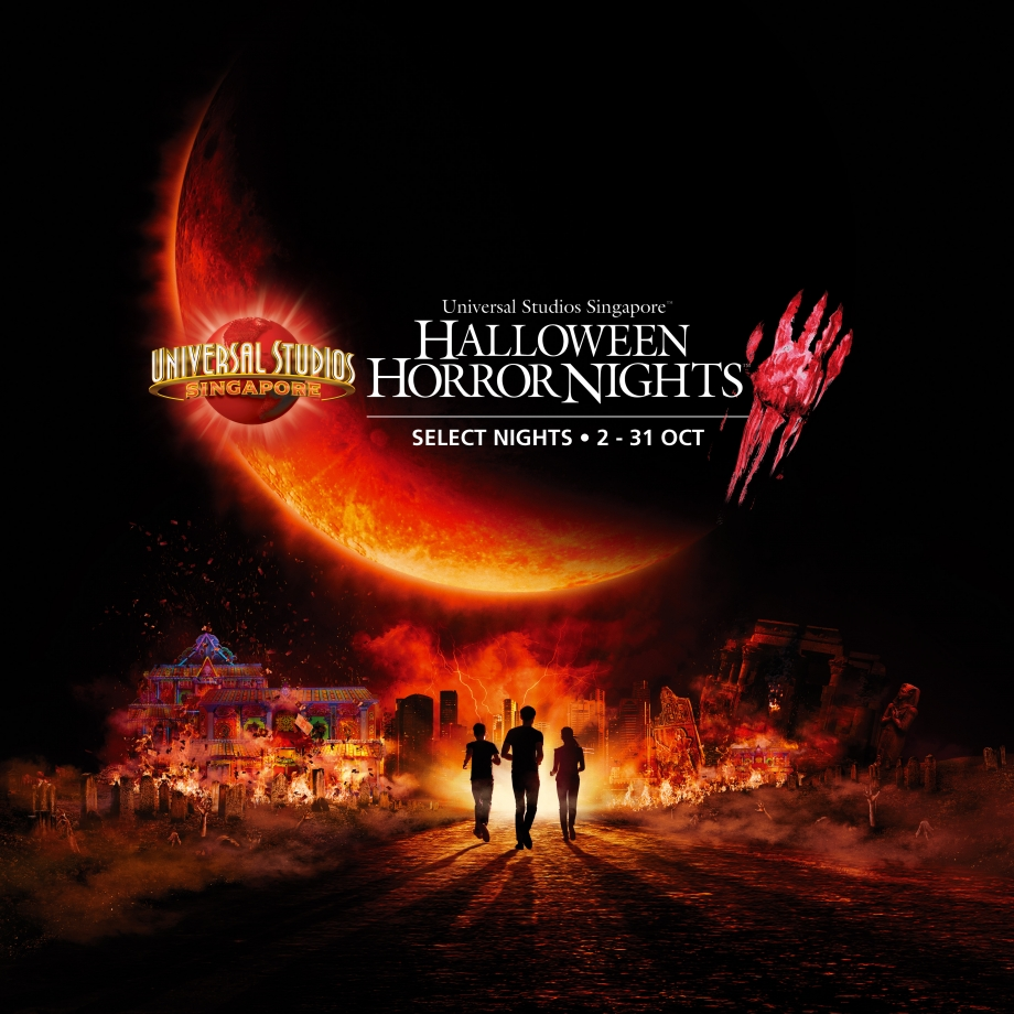 Halloween Horror Nights 5 at Universal Studios Singapore - Evil will reign as the ominous blood moon descends
