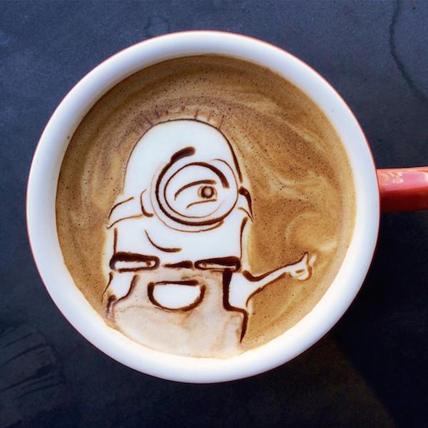 Minion Latte Art AspirantSG Best Coffee For French Press