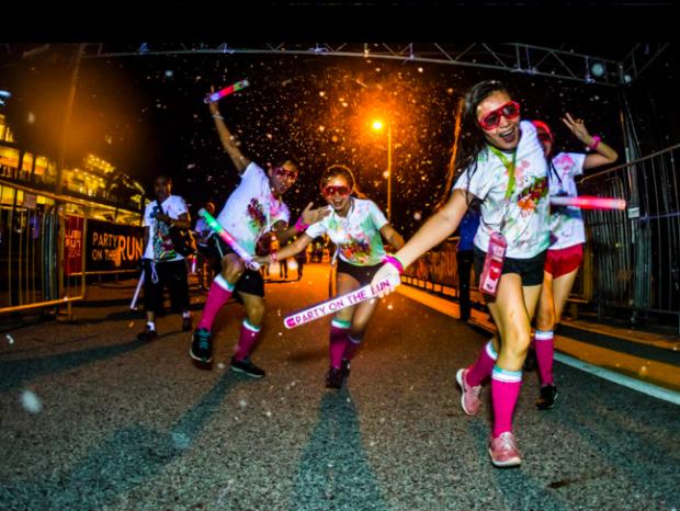 ILLUMI Runners dashing across finish line - AspirantSG