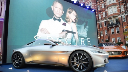 British Airways Shows 10 James Bond Related Activities In London