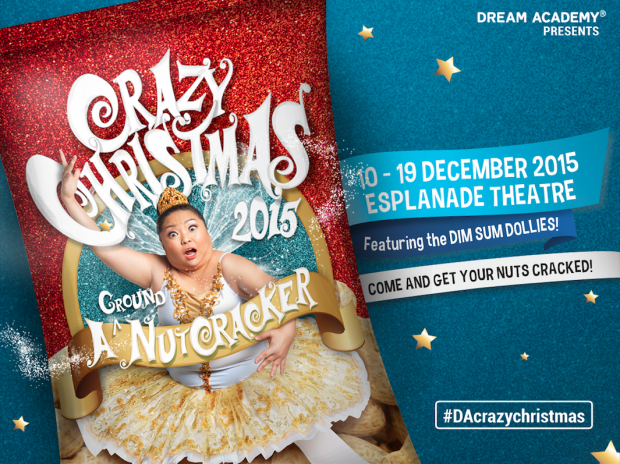 Dream Academy Presents Crazy Christmas A Groundnut Cracker - AspirantSG