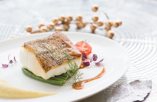 ADHD Pan fried Sea bass in Champagne - AspirantSG