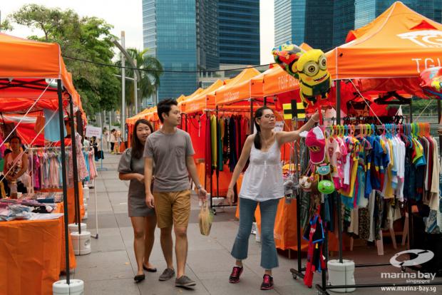 Marina Bay Bazaars Singapore - AspirantSG
