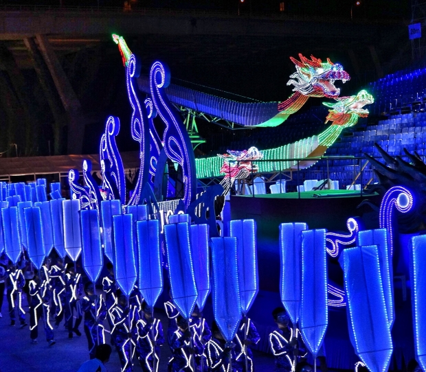 Chingay Lights Of Legacy Towards A Brighter Singapore - AspirantSG