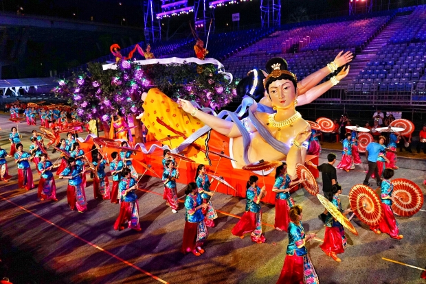 Chingay 2016, Asia's Largest Street Parade Performance - AspirantSG