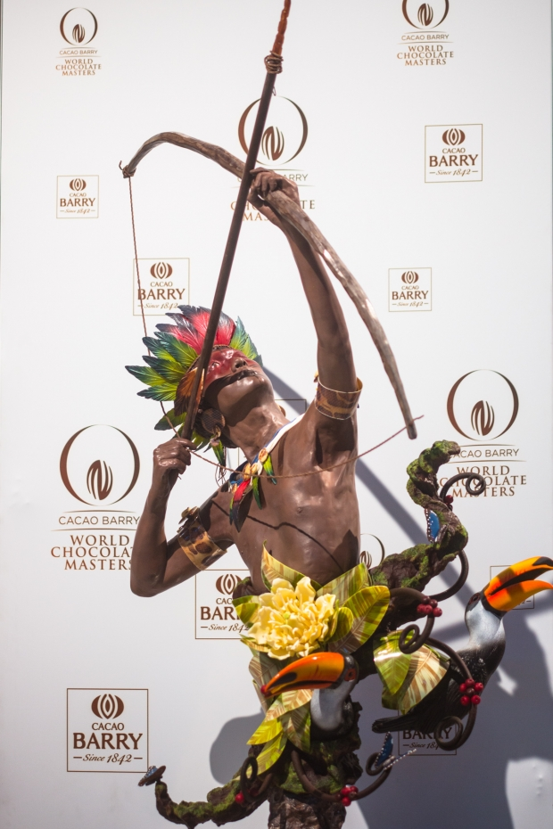 SHOWPIECE@World Chocolate Master 2015_Marijn Coertjens - AspirantSG