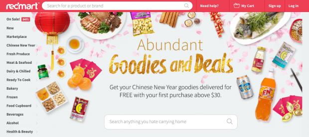 RedMart Online Shopping - AspirantSG