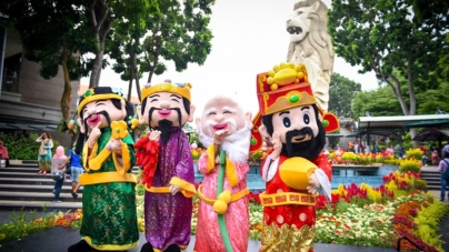 Sentosa Celebrate Love & Prosperity In Year of The Rooster