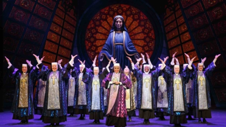 Sister Act Musical First Divine Performance At Marina Bay Sands Singapore