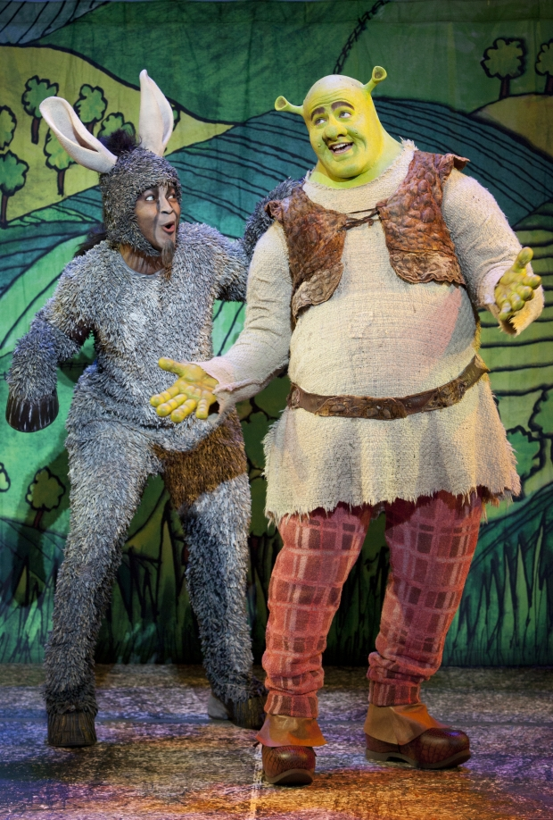 Travel Song with Jeremy Gaston as Donkey & Perry Sook as Shrek - AspirantSG