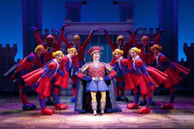 Christian Marriner as Lord Farquaad In Shrek The Musical - AspirantSG