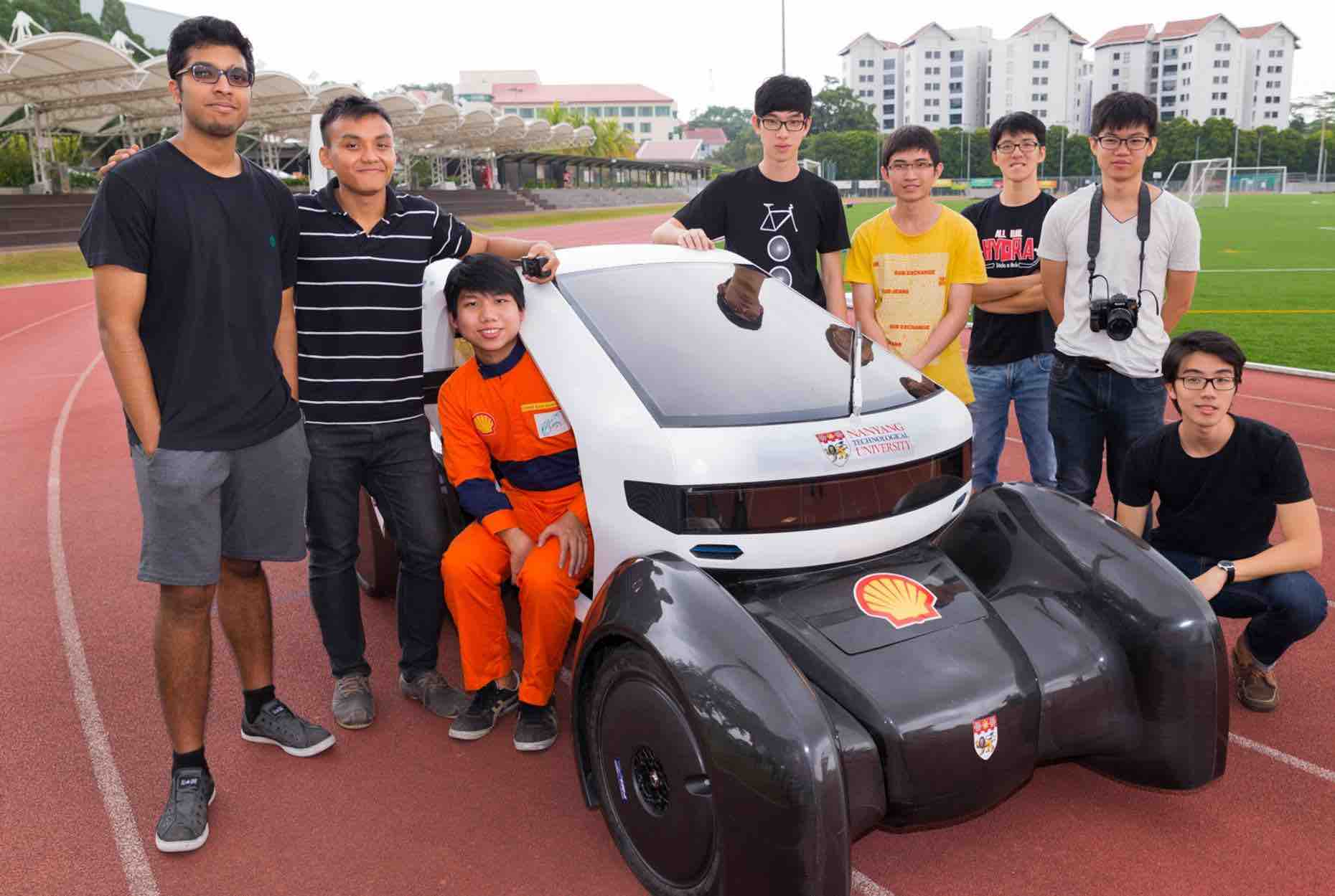 3D Printed Cars By NTU Students - AspirantSG