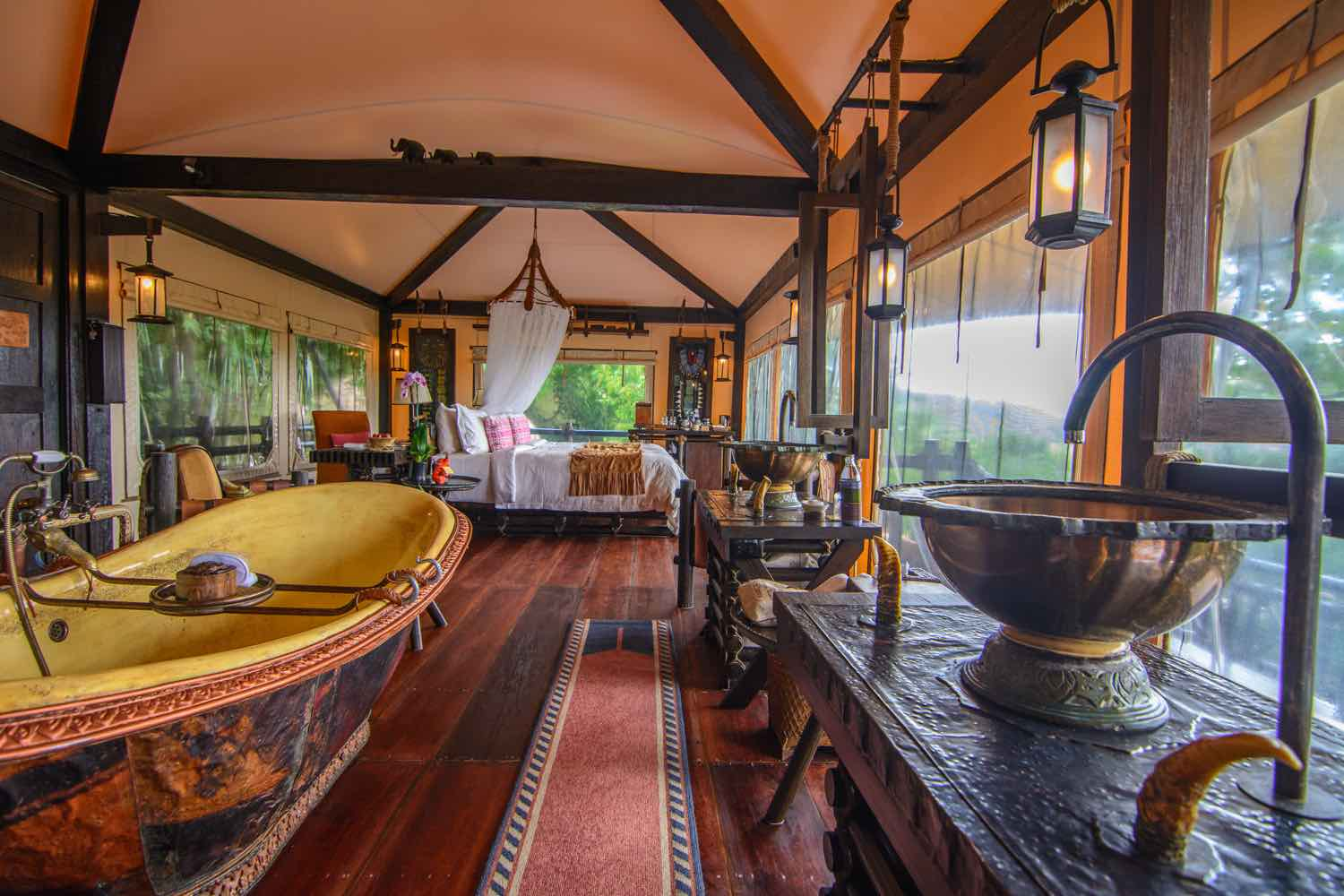 Four Seasons Tented Camp Golden Triangle Interior - AspirantSG