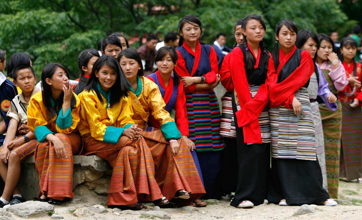Gho & Kira Bhutan - AspirantSG