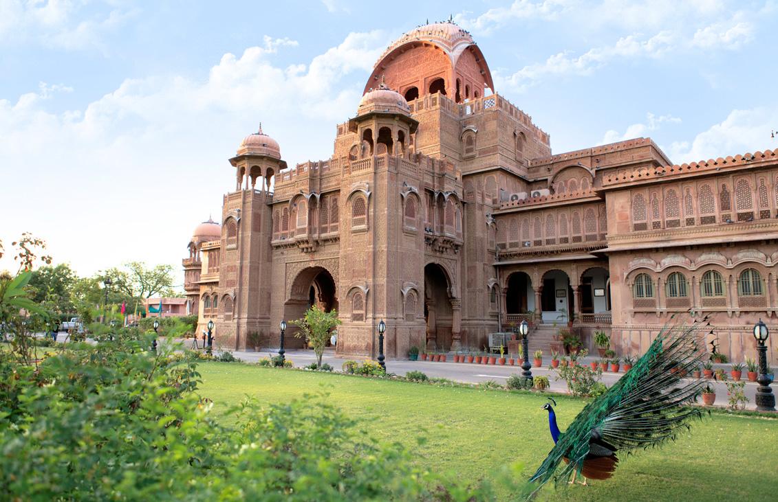 Laxmi Niwas Palace, Bikaner - AspirantSG